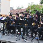 Konzert der Big Band Deutsch-Wagram im Garten der Musikschule