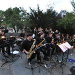 The Big Band Deutsch-Wagram im Garten der Musikschule