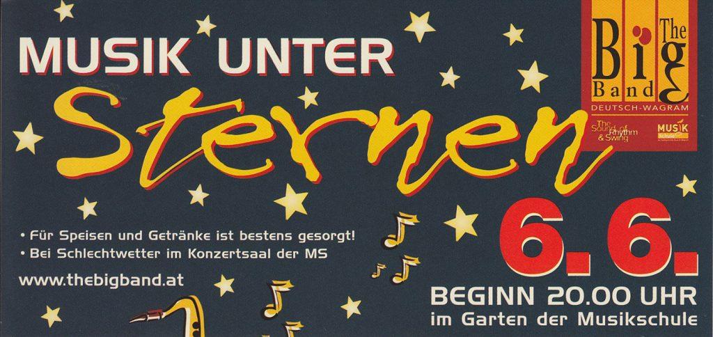 Musik unter Sternen